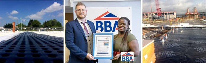 'World-first' BBA certificate for JUTA UK's water, hydrocarbon and gas resistant membrane.