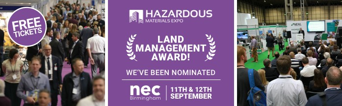 We've been nominated for the Land Management Award!
